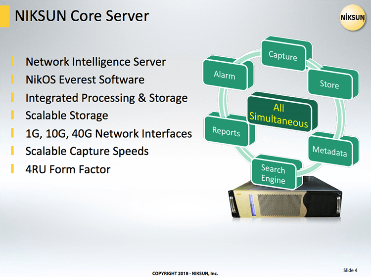 NIKSUN Core Server