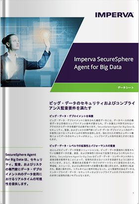 Imperva SecureSphere Agent for Big Data
