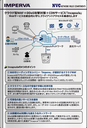 Imperva Cloud WAF(旧称 Incapsula)製品紹介フライヤー